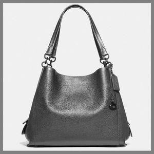 Coach Dalton 31 Leather Shoulder Bag